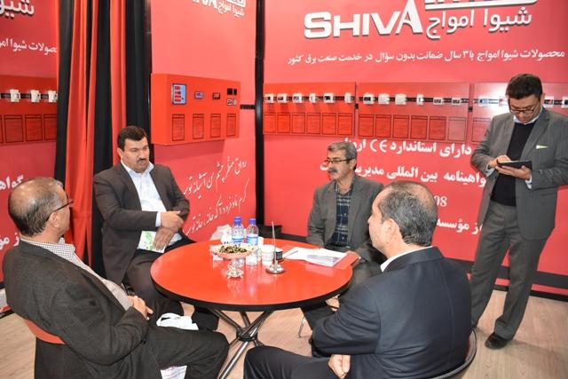 حضورمدیر عامل وهمکاران درنمایشگاه بین المللی صنعت برق تهران